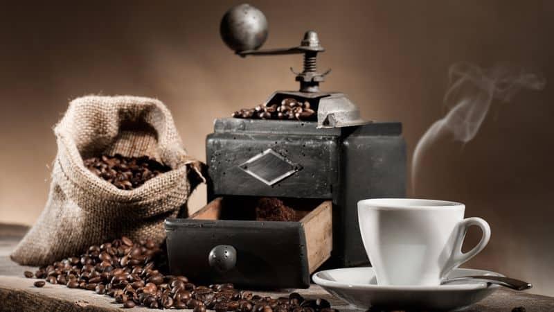 El aroma de un buen café